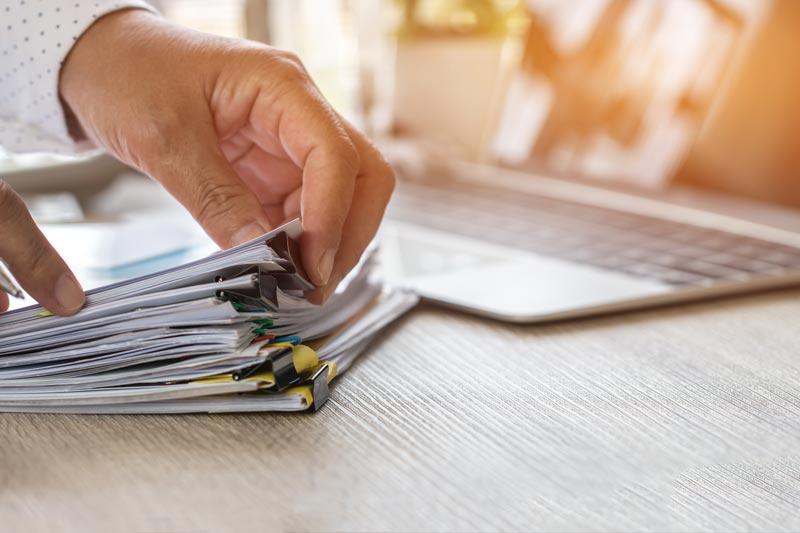 Gestión de documentos de archivo